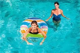 "Bestway Dream <b>Floats Inflatable Striped Swim</b> Tube 36"" <b>Swimming</b> ..."