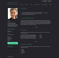 marketplace web design forum psd cv template 1 0