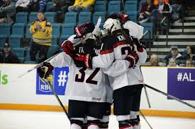 photo essay meg linehan live from usa world hockey the united states celebrate hilary knight s tying goal in the first period