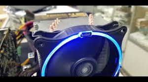<b>Кулер PcCooler GI</b>-UX4 Corona B Распаковка, тест, обзор ...