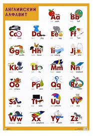 <b>Плакат Мозаика</b>-<b>Синтез</b> Английский алфавит — купить по ...