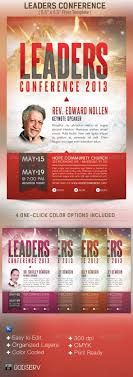 graphicriver leadership conference church flyer template graphicriver leadership conference church flyer template