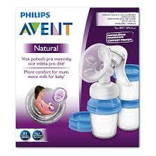 <b>Avent Молокоотсос ручной</b> Natural с контейнером для хранения ...