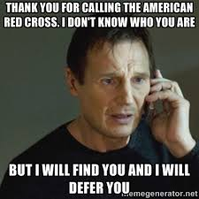 Thank you for calling the American Red Cross. I don't know who you ... via Relatably.com
