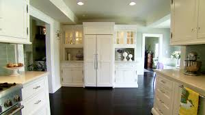 painted blue kitchen cabinets house: