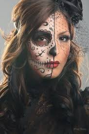 easy day of the dead makeup google search