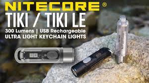 NITECORE TIKI / TIKI LE 300 Lumen <b>USB Rechargeable Mini</b> ...