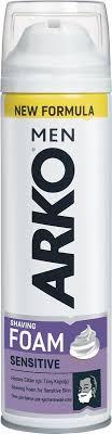 <b>Arko</b> MEN <b>Пена для бритья</b> Sensitive 200мл — купить в интернет ...