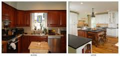 small kitchen renovation ideas before and after add undercabinet lighting existing kitchen