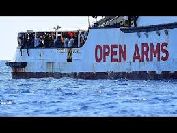 Open Arms captain says migrants are '<b>broken</b>', <b>ship is</b> like a ticking ...