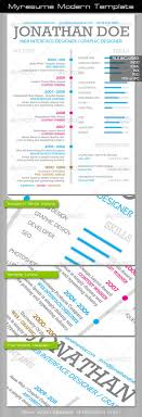 17 best images about photoshop resume templates myresume modern template award education experience resume realistic photo graphic print obejct business web elements illustration design