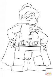 Small Picture Lego Robin Coloring Pages Lego Batman Coloring Pages Printable