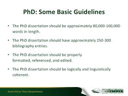 thesis requirements South African Thesis Requirements SlideShare South African Thesis Requirements