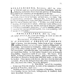 lexington and concord lesson plan williamsburg