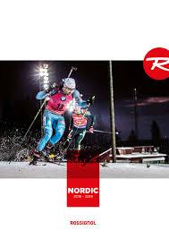 Katalog Rossignol <b>Nordic</b> 2018-<b>2019</b> by levnelyze - issuu