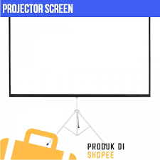 New <b>100</b> inch <b>Portable Foldable Projector</b> Screen with Tripod Stand ...
