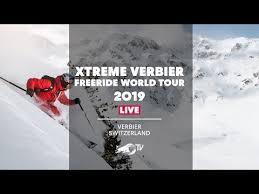<b>Freeride</b> World Tour 2019 Finals <b>LIVE</b> from Verbier, Switzerland ...