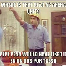 """Que Pasa, U.S.A.? on Twitter: """"Pepe Peña saves Lebron! #quepasausa ..."""