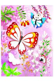 <b>Раскраска Блестящие бабочки Djeco</b> (Джеко) арт 09503 ...