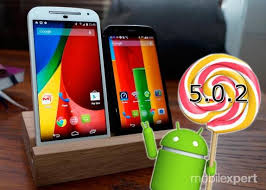 Pembaruan Android 5.0.2 Lollipop