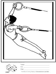 Gymnastics Coloring Sheets Gymnastics Positions Coloring Pages And Print For Free