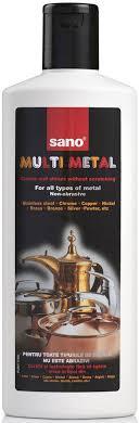 """<b>Средство</b> для чистки металла <b>Sano</b> """"<b>Multi Metal</b>"""", 300 мл — купить ..."""