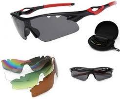 UV400 <b>Polarized Bicycle</b> 5 Lenses of One <b>Set</b> Unisex Outdoor Sport ...