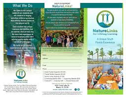 printable flyers nature links for life long learning bro front 08 17 15 final