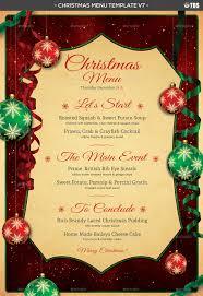 christmas menu template v7 by lou606 graphicriver menu template v7 jpg