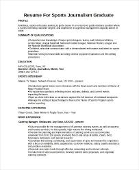cool journalism resumes  resume sample for communications    journalist resume template    word pdf document