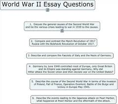 causes of the second world war history essay  free second world war papers essays