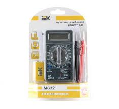 <b>Мультиметр цифровой IEK Universal</b> M832 - купить в Краснодар ...