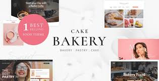 <b>Cake</b> Bakery - Pastry WP by nicdark | ThemeForest