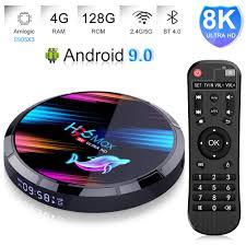 4GB 128GB TV Box Android 9.0 EstgoSZ <b>H96 Max X3 Android</b> TV ...