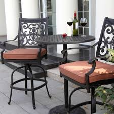 bar height patio chair: marvellous square fabric upholstered patio chairs mixed small rounded table as well as patio bar height table and chairs and outdoor bar height table and