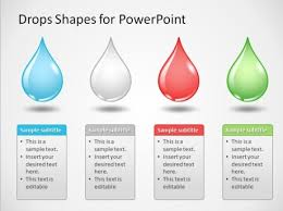 slidemodel provides the best powerpoint diagrams  maps and templatesdrop shapes diagram template