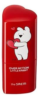The Saem <b>румяна</b>-<b>стик over action little</b> rabbit love me stick blusher 6г