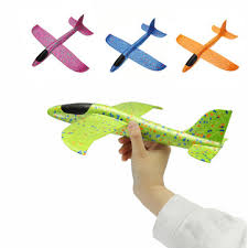 4pcs <b>35cm</b> big size <b>hand launch throwing</b> aircraft airplane glider diy ...