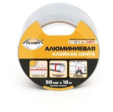<b>Лента клейкая алюминиевая Aviora</b>, 50 мм х 10 м - купить по цене ...