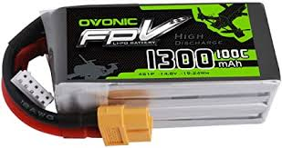 Ovonic 14.8V 1300mAh 100C 4S LiPo Battery Pack ... - Amazon.com