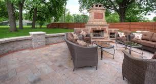outdoor fireplace paver patio: brick patio brick patio x the benefits of a brick patio organicoyenforma