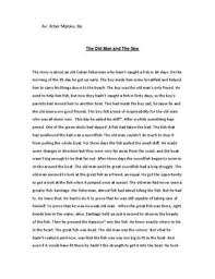 the old man and sea book review essay   essaythe old man and sea summary sammanfattning stunet se