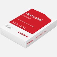 Buy <b>Canon</b> Red Label Superior <b>FSC</b> 80 g/m² A4 <b>paper</b> – 500 sheets ...