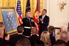 u s department of defense photo essay president barack obama congratulates medal of honor recipient marine corps sgt dakota meyer during the