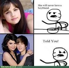 memes - Cereal Guy: Selena Gomez   oli   Pinterest   Cereal Guy ... via Relatably.com