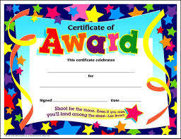 printable award certificate templates for kids certificatezet printable award certificate templates for kids certificatezet