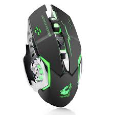 <b>X8</b> Wireless Rechargeable Game Mouse Silent Illuminated ...