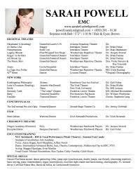 actors resume sample free beginner acting resume sample musical theatre resume template download musical theater resume sample musical theatre resume