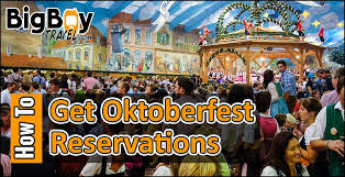 How To Get Table Reservations At Oktoberfest Tents - Without Tickets