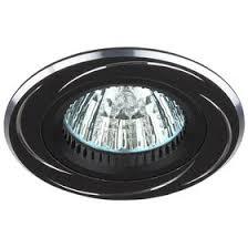 Купить <b>Светильник ЭРА KL34</b> AL/BK алюминиевый MR16, 12V ...